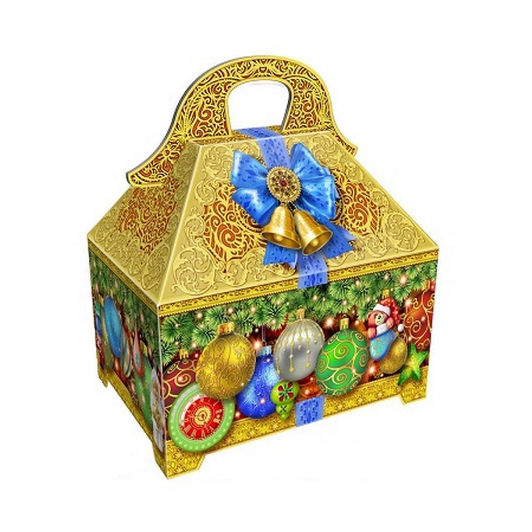Упаковка для сладких подарков на новый год